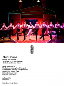 """Our House"", Junges Staatsmusical Wiesbaden"